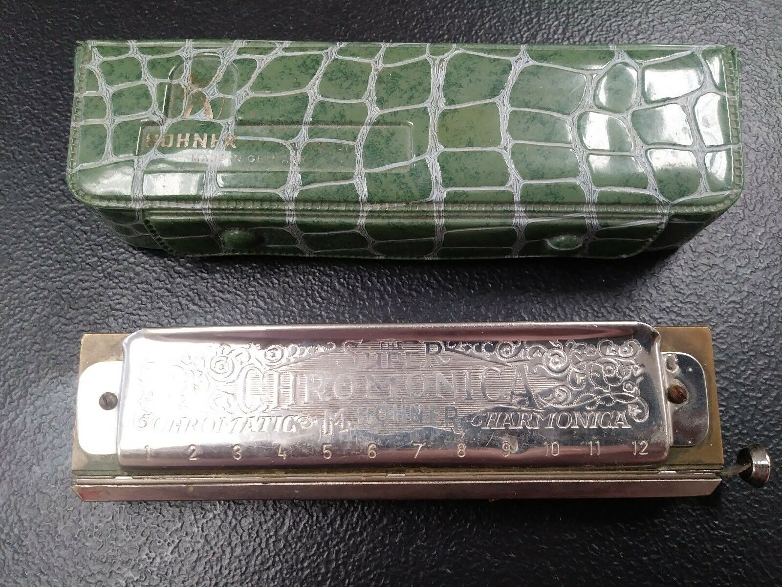 New Free Shipping ! Hohner Chromonica 280 16 hole chromatic harmonica key of C