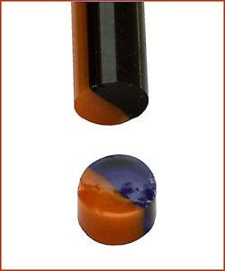 TOP-Angbot-Murrinistange-8-10mm-Blau-Transparent-Gelb-33cm