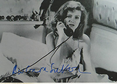 Movies Persevering Barbara Sukowa Signed 8x12 Inch Photo Autograph Delicacies Loved By All