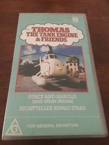 THOMAS-THE-TANK-ENGINE-amp-FRIENDS-PERCY-AND-HAROLD-AND-OTHER-STORIES-VHS-VIDEO
