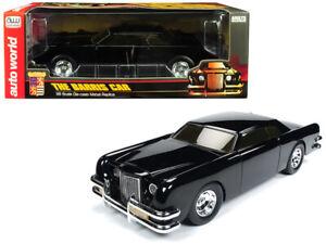 Autoworld-1-18-George-Barris-The-Car-1971-Lincoln-Diecast-Sparkle-Black-AWSS120