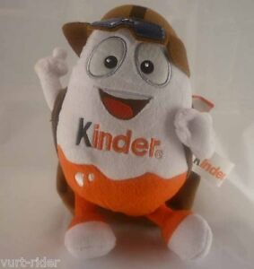 Pilot Plush with 3 empty pack of KINDER Chocolate - duty free - brand new nuovo 1NXoYBb8-09111049-672600387