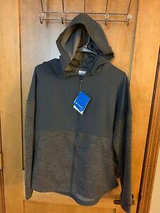 NWT-Columbia-Women-039-s-Chambers-Lane-Hoodie-Boulder-Full-Zip-Fleece-Jacket