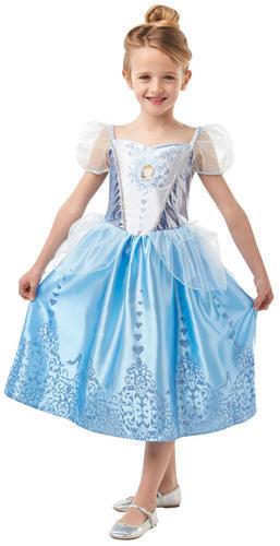 Cinderella Gem Princess Girls Fancy Dress Disney World Book Day Children Costume