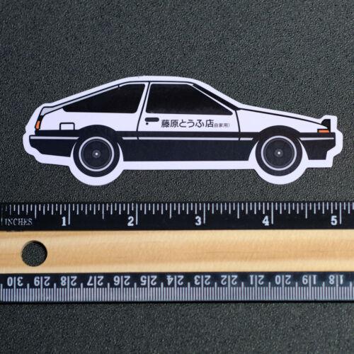 "Initial D Japan Manga 頭文字D Toyota AE86 GT 86 1.5x5/"" Decal sticker #4010"