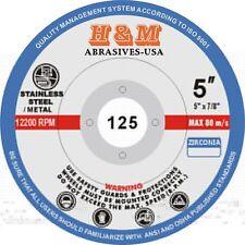 "10pcs Premium Zirconia FLAP DISCS 5"" x7/8"" 40 grit Grinding Wheel"
