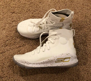 NEW Sz 6y Under Armour GS Curry 4 Mid