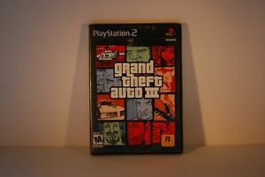 Sony Playstation 2 PS2 Grand Theft Auto III GTA 3 Video Game SEE STORE