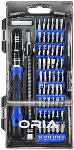 Professional Repair Tool Kit Magnetic Driver Kit ORIA Screwdriver Set 60 in 1