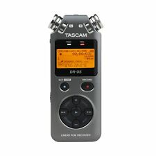 Tascam DR-05 Version 2 Handheld PCM Portable Digital Audio Recorder Grey DR05 V2