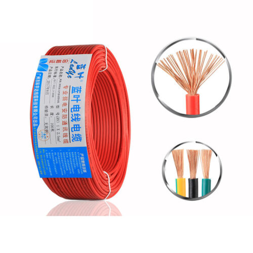 Extension Cable Connector Electric Flex Wire 1 Core 0.5mm² For Home Light DIY