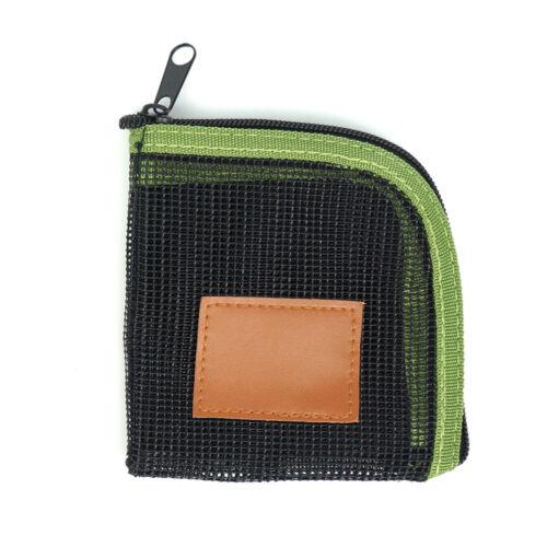 Aventik 5 Slots Mesh Leader wallet Tippet Case Net-like Leader Tippet Storage