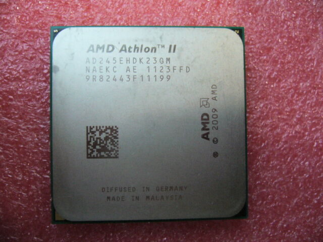 QTY 1x AMD Athlon II X2 245e 2.9 GHz Dual-Core (AD245EHDK23GM) CPU AM3 45W