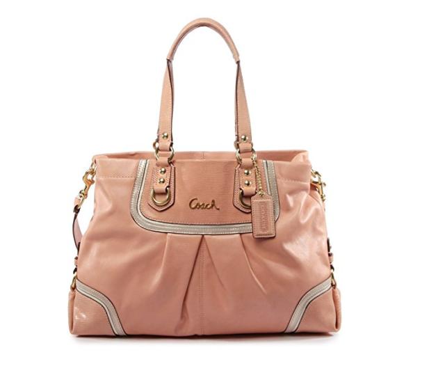 99090005d9ef3 Coach Ashley Spectator Exotic Leather Carryall Bag Shoulder Bag Handbags  F24887