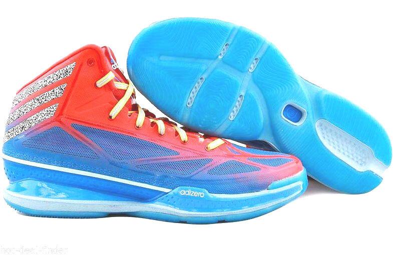 Adidas adizero = größe 8 = verrückte rot licht 3 blau - rot verrückte bei basketball - schuhe q32579 21d718