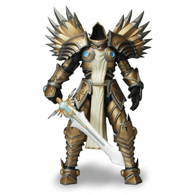 1 NECA Heroes of the Storm Series 2 Tyrael Action Figure 7in Blizzard Diablo New