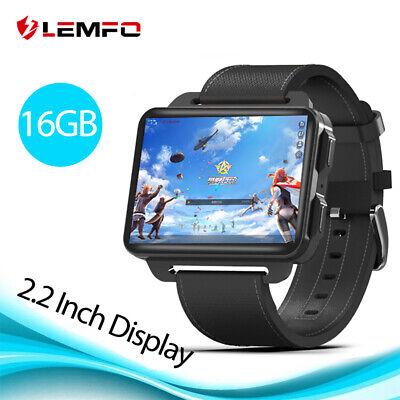 LEMFO LEM4 Pro Smart Watch 3G SIM 16GB WIFI GPS Heart Rate Music For Andirod iOS