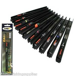 10-x-Pole-Float-Assorted-Pole-Rigs-Carp-Fishing-Tackle-Barbless-hook-Ready-Tied