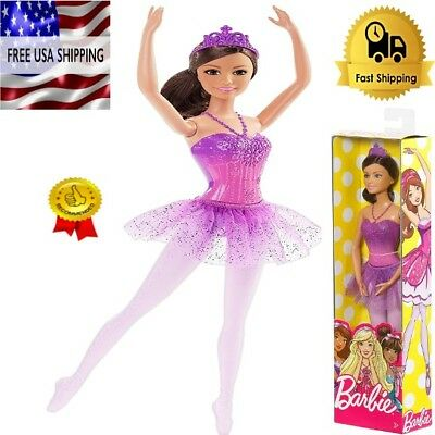 Barbie Ballerina Pink Fairytale Doll You Can Be Anything NEW IN BOX