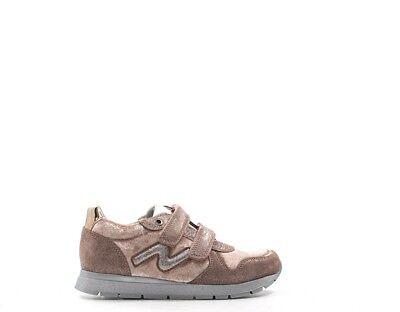 Bellissimo Scarpe Naturino Bambini Sneakers Trendy Rosa Scamosciato,tessuto Slamvl-velshi-