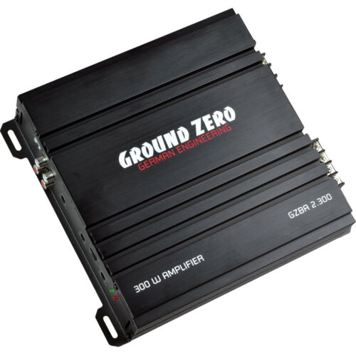 Ground Zero GZ Bass Kit 12.300 incl cable Stade Final caisson de basses Bassbox Câble Set