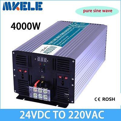 4000W DC24V to AC220V Modified Sine Wave Power Inverter off grid