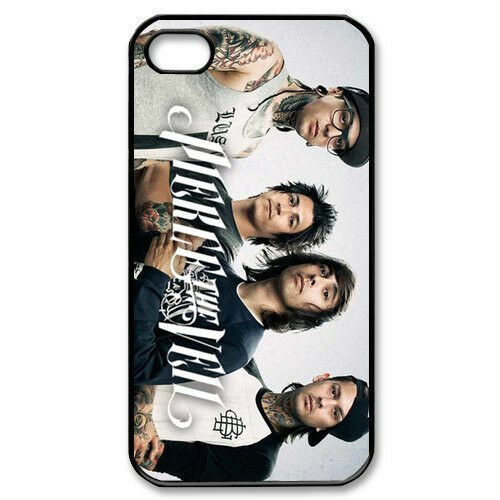 Pop Pierce The Veil For iPhone 4 4S 5 5G 5S 5C Hard Plastic Case Back Skin Cover