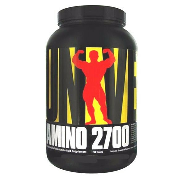 Universal Release AMINO 2700 Sustained Release Universal Aminos - 700 tabs STRENGTH, RECOVERY 9fe6b0