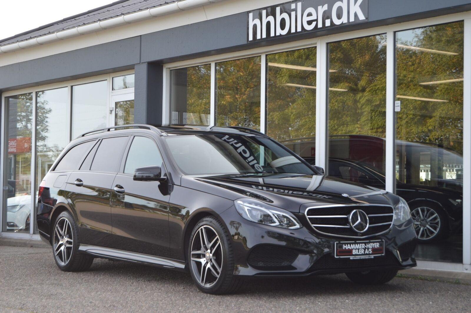 Mercedes E350 3,0 BlueTEC AMG Line stc. aut. 4-M 5d - 469.500 kr.