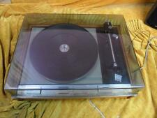 Thorens TD125 mk 2 turntable in plinth with lid