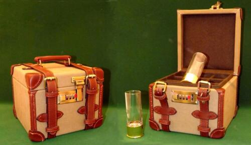 24K gold plated peg finder// shooting glasses in a Gun box carrying case