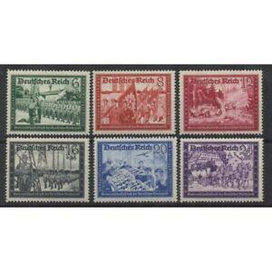 1941-Allemagne-Troisieme-Reich-Pro-Fed-Lettre-6-Val-MNH-MF61233