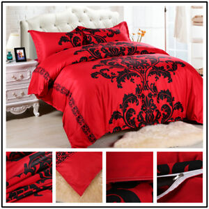 Bedding-Set-3pcs-Bedclothes-Cover-Pillowcase-No-Sheets-Quilt-Bedding-2-28-2-28m
