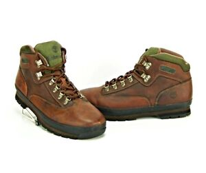 Euro Shoes M Sz Timberland Hiker Men's Ankle Details 14 Zu Boots Brown Classic Leather TlKF31Jc