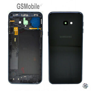 Tapa-Trasera-Battery-Cover-Power-NFC-Black-Samsung-Galaxy-J4-Plus-J415F-ORIGINAL
