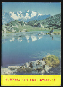 Verkehrskarte-der-Schweiz-in-Form-eine-kleinen-Broschuere-um-1990