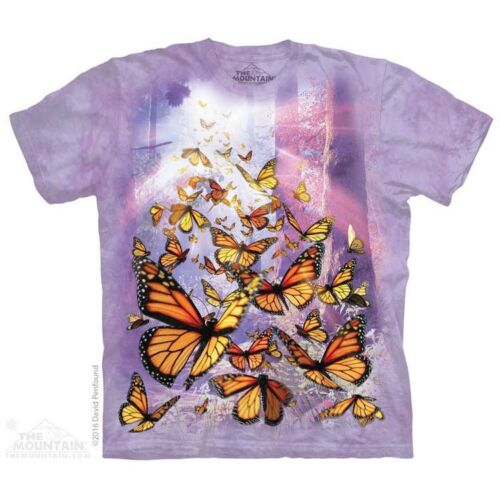 Birds Bugs Sizes S-5X NEW Monarch Butterflies T-Shirt by The Mountain