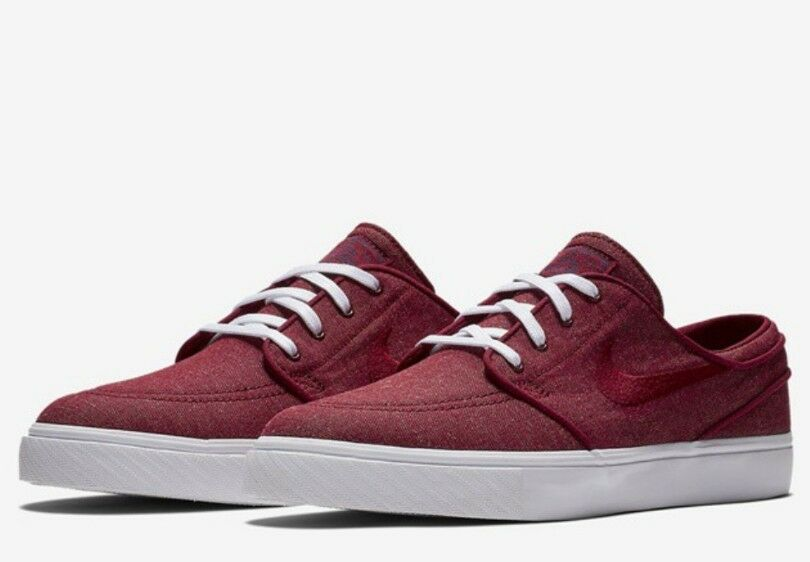 Nike Mens Zoom Stefan Janoski Canvas Athletic Snickers Shoes Wild casual shoes