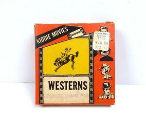 """Vintage Metro Films Inc Kiddie Movies 8mm Gun Smoke 50ft 3"""" Reel"""