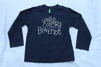 United Colors of Benetton Maglietta a Maniche Lunghe Bambino