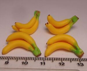 Dollhouse Miniature A Bunch of Banana Kitchen Food Fruit Accessories 1:12 Scale