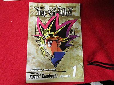 Yu Gi Oh Issue Vol #1 manga ENGLISH LANGUAGE comic book pokemon anime card