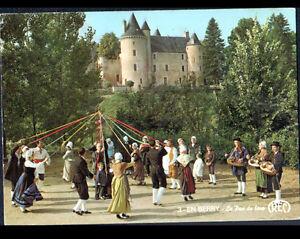 LE-PONT-CHRETIEN-36-MUSICIEN-avec-VIELLE-amp-DANSEUR-au-CHATEAU-en-1985
