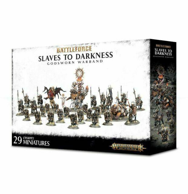 Slaves to Darkness Godsworn Warband Battle Force Warhammer Age of Sigmar NIB