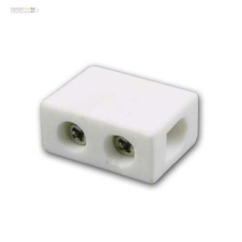 Broche porcelaine connexion borne 1//2//3 broches céramique pour 1,5-2,5mm²