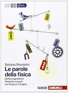 LE PAROLE DELLA FISICA 3, MANDOLINI, ZANICHELLI, CODICE LIBRO 9788808141194