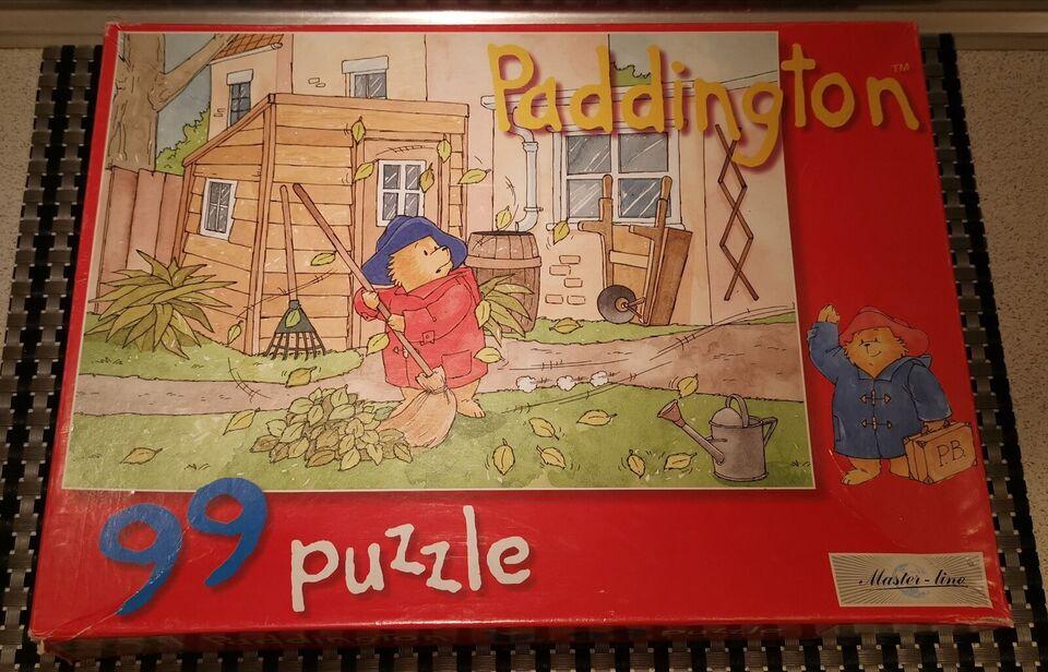 Paddington efterår i haven., puslespil