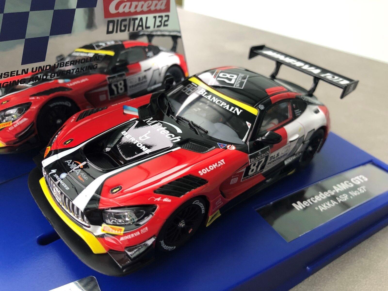 Carrera Digital 132 30846 20030846 Mercedes AMG GT3   Basket,Asp ,Nr. 87   Nuovo