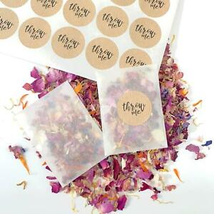 Red-Rose-Petal-Natural-Biodegradable-Wedding-Confetti-Dried-Petal-Bags-PACKETS