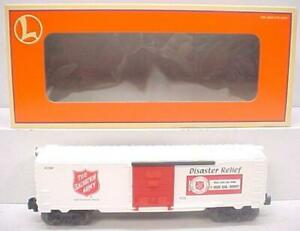 Lionel-6-26256-Salvation-Army-Boxcar-NIB-Extremely-Rare-HARD-TO-FIND-gt
